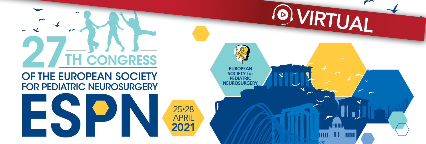 27th Congress of the European Society for Pediatric Neurosurgery (ESPN)